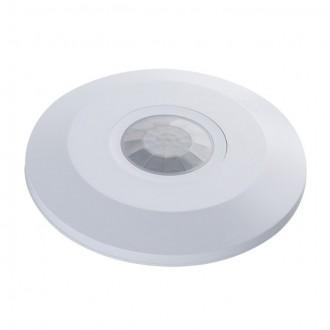 KANLUX 23452 | Kanlux sa senzorom PIR 360° okrugli bijelo