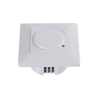 KANLUX 23453 | Kanlux sa senzorom MW 180° ugradbene svjetiljke četvrtast bijelo