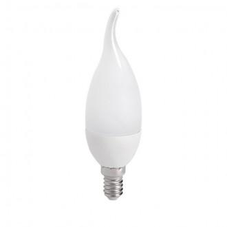 KANLUX 23491 | E14 6,5W -> 48W Kanlux dekorativna plamen FC38 LED izvori svjetlosti SMD 600lm 4000K 210°