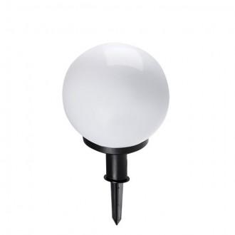 KANLUX 23510 | Idava Kanlux ubodne svjetiljke svjetiljka kuglasta vilasti utikač - bez utikača elementi koji se mogu okretati 1x E27 IP44 crno, bijelo