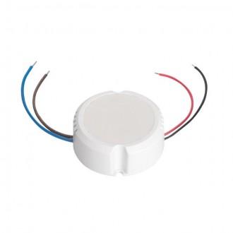 KANLUX 24241 | Kanlux LED napojna jedinica 12V DC 0-15W 1,25A okrugli bijelo