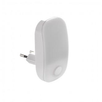 KANLUX 24370 | Plugi Kanlux utična svjetiljka svjetiljka s prekidačem 1x LED 2lm 3000K bijelo