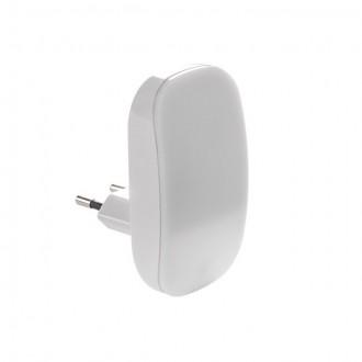 KANLUX 24371 | Plugi Kanlux utična svjetiljka svjetiljka svjetlosni senzor - sumračni prekidač 1x LED 1lm 3000K bijelo