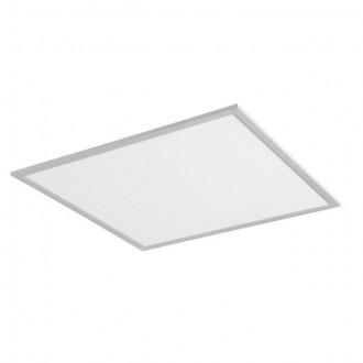 KANLUX 24639 | Bravo Kanlux spušteni plafon, stropne svjetiljke, visilice LED panel četvrtast 1x LED 5000lm 4000K srebrno, bijelo