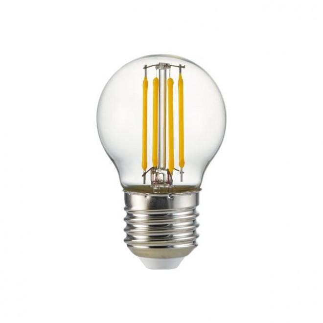 KANLUX 25410 | E27 4W -> 35W Kanlux mala kugla P45 LED izvori svjetlosti filament 400lm 2700K 360°
