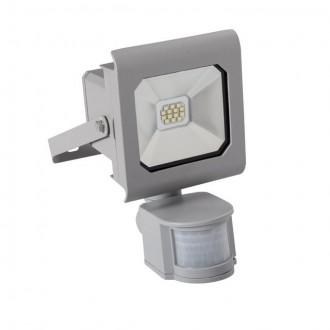 KANLUX 25580 | Antra Kanlux reflektor svjetiljka pravotkutnik sa senzorom, svjetlosni senzor - sumračni prekidač elementi koji se mogu okretati 1x LED 750lm 4000K IP65 sivo