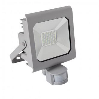KANLUX 25582 | Antra Kanlux reflektor svjetiljka pravotkutnik sa senzorom, svjetlosni senzor - sumračni prekidač elementi koji se mogu okretati 1x LED 3700lm 4000K IP65 sivo