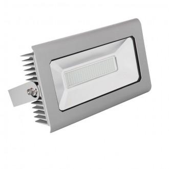 KANLUX 25587 | Antra Kanlux reflektor svjetiljka pravotkutnik elementi koji se mogu okretati 1x LED 11900lm 4000K IP65 sivo