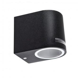 KANLUX 25662 | Novia Kanlux zidna svjetiljka 1x GU10 IP44 crno