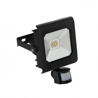 KANLUX 25701 | Antra Kanlux reflektor svjetiljka pravotkutnik sa senzorom, svjetlosni senzor - sumračni prekidač elementi koji se mogu okretati 1x LED 750lm 4000K IP65 crno