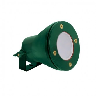 KANLUX 25720 | Akven Kanlux podvodna lampa 1x MR16 / GU5.3 370lm 3000K IP68 zeleno