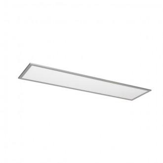 KANLUX 25940 | Bravo Kanlux spušteni plafon, stropne svjetiljke, visilice LED panel pravotkutnik 1x LED 3700lm 4000K srebrno, bijelo