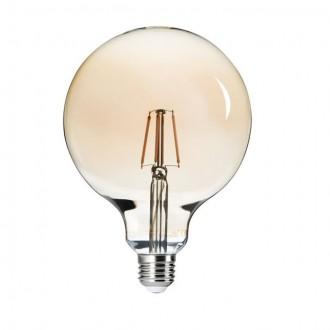 KANLUX 26042 | E27 6W -> 51W Kanlux velika kugla G125 LED izvori svjetlosti filament 650lm 2500K 300°