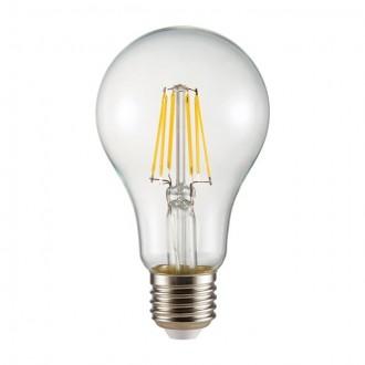 KANLUX 26044 | E27 8W -> 72W Kanlux obični A65 LED izvori svjetlosti filament 1000lm 2700K 360°