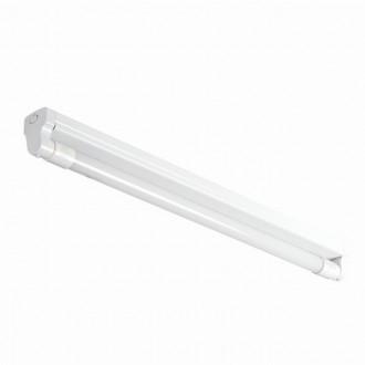 KANLUX 26360 | Aldo-4LED Kanlux stropne svjetiljke armatura namenjeno za izvor svjetlosti T8 LED 1x G13 / T8 LED bijelo