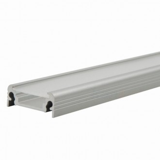 KANLUX 26542 | Kanlux aluminijski led profil D - bez sjenila - 2m za max. 10 mm LED trake aluminij