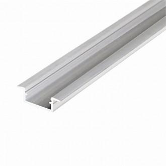 KANLUX 26549 | Kanlux aluminijski led profil K - bez sjenila - 2m aluminij
