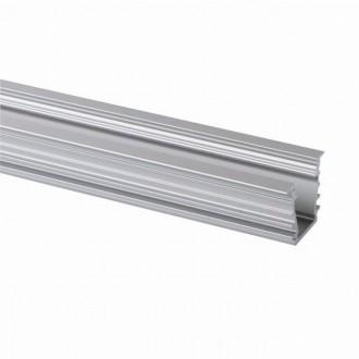 KANLUX 26554 | Kanlux aluminijski led profil I - bez sjenila - 1m za max. 10 mm LED trake aluminij