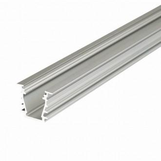 KANLUX 26555 | Kanlux aluminijski led profil I - bez sjenila - 2m za max. 10 mm LED trake aluminij