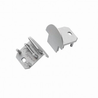 KANLUX 26591 | Kanlux završna kapa I dvodijelni set sivo