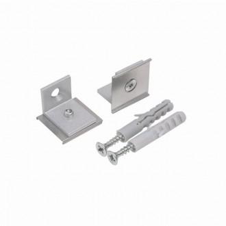 KANLUX 26600 | Kanlux pričvrščivač H - SIDE dvodijelni set sivo