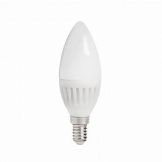 KANLUX 26760 | E14 8W -> 60W Kanlux oblik svijeće C37 LED izvori svjetlosti SMD 800lm 3000K 210°