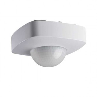 KANLUX 26820 | Kanlux sa senzorom 3xPIR, 360/120° četvrtast bijelo