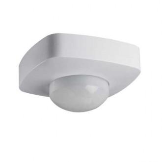 KANLUX 26821 | Kanlux sa senzorom 2xPIR, 360/120° četvrtast bijelo