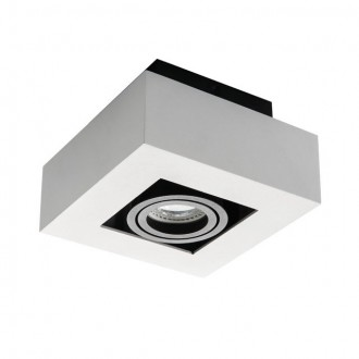 KANLUX 26831 | Stobi Kanlux stropne svjetiljke svjetiljka četvrtast izvori svjetlosti koji se mogu okretati 1x GU10 bijelo