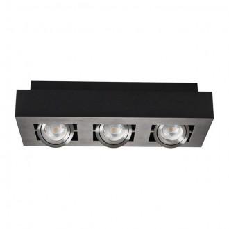 KANLUX 26834   Stobi Kanlux stropne svjetiljke svjetiljka pravotkutnik izvori svjetlosti koji se mogu okretati 3x GU10 / PAR16 crno