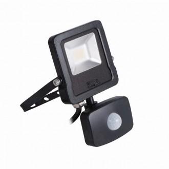 KANLUX 27094 | Antos-LED Kanlux reflektor svjetiljka sa senzorom, svjetlosni senzor - sumračni prekidač elementi koji se mogu okretati 1x LED 800lm 4000K IP44 crno