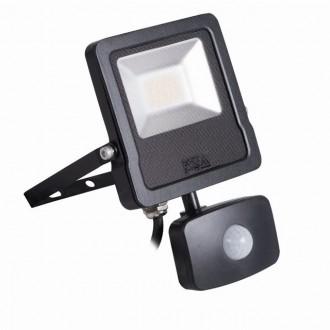 KANLUX 27095 | Antos-LED Kanlux reflektor svjetiljka sa senzorom, svjetlosni senzor - sumračni prekidač elementi koji se mogu okretati 1x LED 1600lm 4000K IP44 crno