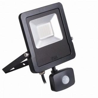 KANLUX 27096 | Antos-LED Kanlux reflektor svjetiljka sa senzorom, svjetlosni senzor - sumračni prekidač elementi koji se mogu okretati 1x LED 2400lm 4000K IP44 crno
