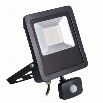 KANLUX 27097 | Antos-LED Kanlux reflektor svjetiljka sa senzorom, svjetlosni senzor - sumračni prekidač elementi koji se mogu okretati 1x LED 4000lm 4000K IP44 crno