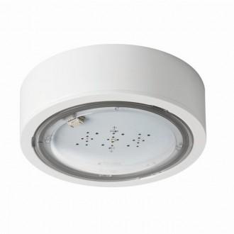 KANLUX 27380 | iTech Kanlux panik rasvjeta sa dve funkcije 3h - zidna, stropne svjetiljke, ugradbena svjetiljka okrugli 1x LED 245lm 5000K IP65 bijelo