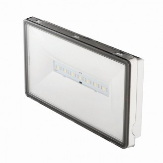 KANLUX 27396 | Ontec-S Kanlux panik rasvjeta sa dve funkcije 3h - zidna, stropne svjetiljke, ugradbena svjetiljka pravotkutnik 1x LED 128lm 5000K IP65