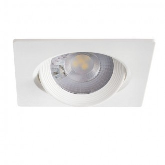 KANLUX 28250 | Arme Kanlux ugradbena svjetiljka četvrtast pomjerljivo 90x90mm 1x LED 370lm 3000K bijelo
