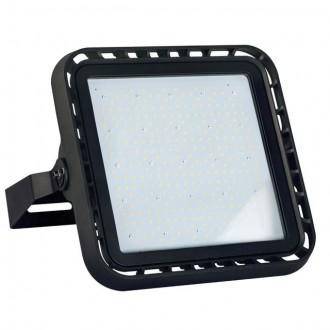 KANLUX 28492 | FL-Master Kanlux reflektor svjetiljka pravotkutnik elementi koji se mogu okretati, jačina svjetlosti se može podešavati 1x LED 28600lm 4000K IP65 IK08 crno