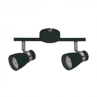 KANLUX 28763 | Enali Kanlux zidna, stropne svjetiljke svjetiljka elementi koji se mogu okretati 2x GU10 crno