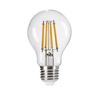 KANLUX 29601 | E27 7W -> 60W Kanlux obični A60 LED izvori svjetlosti filament 810lm 2700K 320° CRI>80