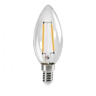 KANLUX 29617 | E14 2,5W -> 25W Kanlux oblik svijeće C35 LED izvori svjetlosti filament 250lm 2700K 320° CRI>80
