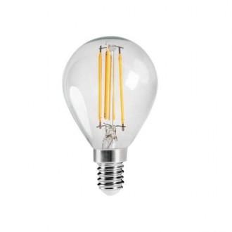 KANLUX 29624 | E14 4,5W -> 40W Kanlux mala kugla G45 LED izvori svjetlosti filament 470lm 2700K 320° CRI>80