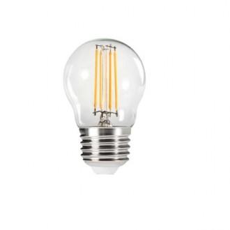 KANLUX 29625 | E27 4,5W -> 40W Kanlux mala kugla G45 LED izvori svjetlosti filament 470lm 2700K 320° CRI>80