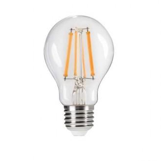 KANLUX 29634 | E27 7W -> 60W Kanlux obični A60 LED izvori svjetlosti Step Dim. 810lm 2700K jačina svjetlosti se može podešavati s impulsnim prekidačem 320° CRI>80