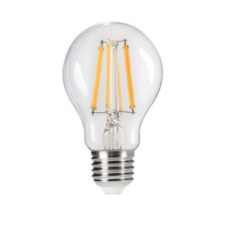 KANLUX 29635 | E27 7W -> 60W Kanlux obični A60 LED izvori svjetlosti Step Dim. 810lm 4000K jačina svjetlosti se može podešavati s impulsnim prekidačem 320° CRI>80