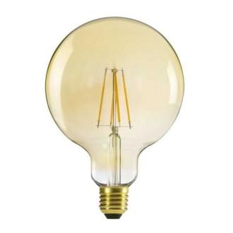 KANLUX 29638 | E27 7W -> 55W Kanlux velika kugla G125 LED izvori svjetlosti filament 725lm 2500K 320° CRI>80