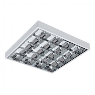 KANLUX 30001 | RSTR Kanlux stropne svjetiljke armatura četvrtast 4x G13 / T8 UV bijelo