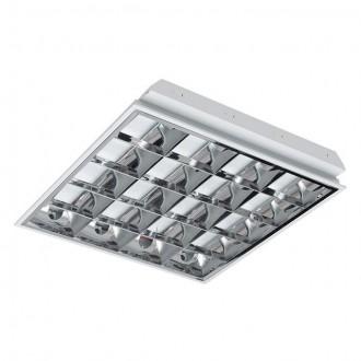 KANLUX 30174 | RSTR-LED Kanlux spušteni plafon armatura četvrtast namenjeno za izvor svjetlosti T8 LED 4x G13 / T8 LED UV bijelo