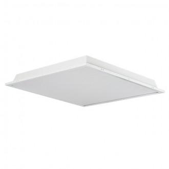 KANLUX 30200 | Trez Kanlux spušteni plafon LED panel četvrtast 1x LED 3250lm 5000K IP44/40 aluminij, bijelo