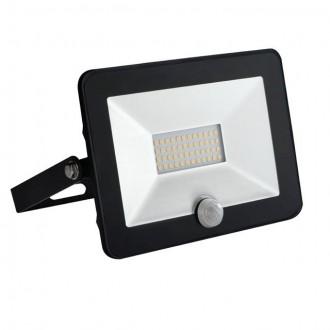 KANLUX 30325 | Grun Kanlux reflektor svjetiljka pravotkutnik sa senzorom elementi koji se mogu okretati 1x LED 1400lm 4000K IP65 crno